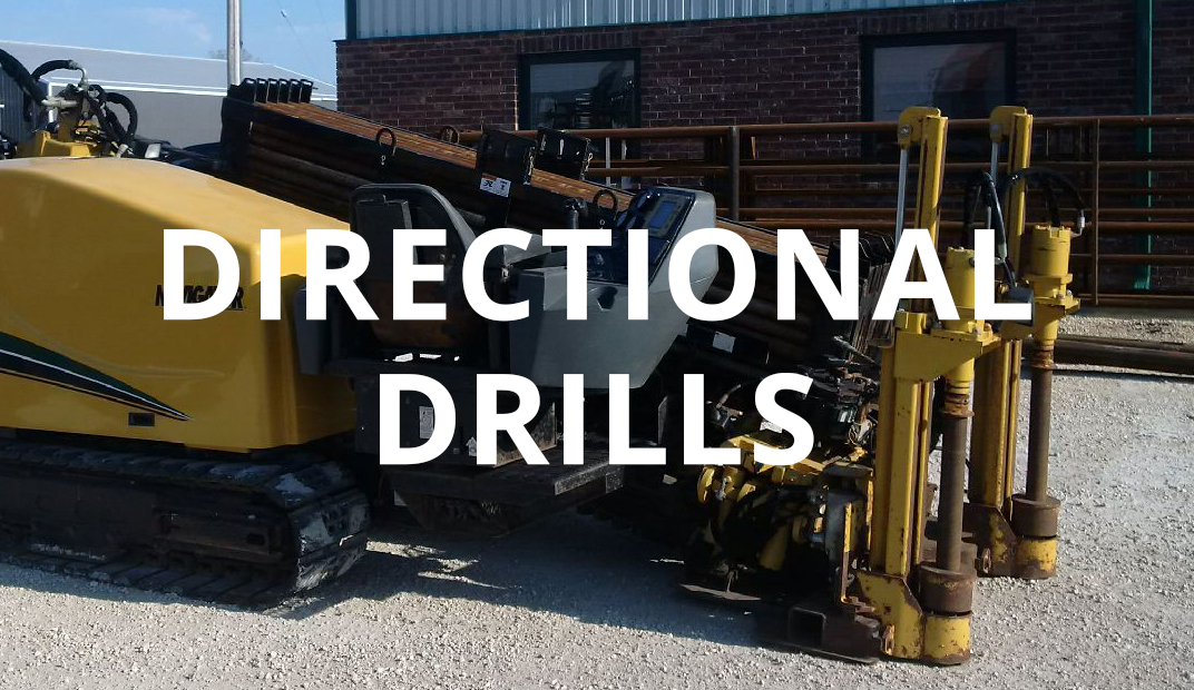 Heavy Duty Directional Drills